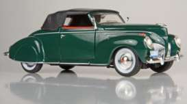 Signature Models - Lincoln  - sig32333gn : 1939 Lincoln Zephyr, green