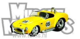 Muscle Machines - Shelby  - mus71161TF1 : 1964 Shelby Cobra #5 limited edition New York Toy Fair (71161TF1-05), yellow