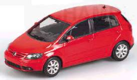 Minichamps - Volkswagen  - mc400054300 : 2004 Volkswagen Golf Plus, red