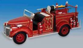 Signature Models - GMC  - sig32348DT : 1941 GMC fire truck *Detroit*, red
