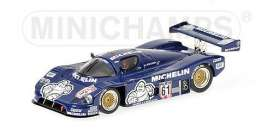 Minichamps - Sauber  - mc432871061 : Sauber Mercedes C9 Michelin Supersprint Nuernburgring 1987 Winner Jean-Louis Schlesser