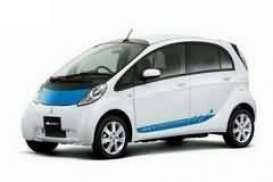 Vitesse SunStar - Mitsubishi  - vss29281 : 2009 Mitsubishi IMIEV Electric car, blue/white
