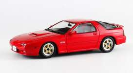 Kyosho - Mazda  - kyo3302r : Mazda Savanna RX-7 GT-R Grade Version with 4 Seats and Mazda Speed MS01 Wheels, red