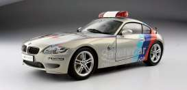 Kyosho - BMW  - kyo8583GP : BMW Z4M Coupe (E86M) Safety Car MotoGP 2008, pearl white