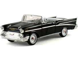 Signature Models - Chevrolet  - sig32430bk : 1957 Chevrolet Bel Air convertible, black
