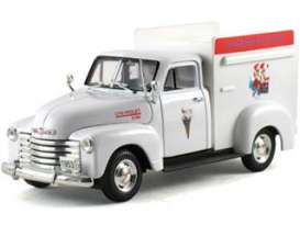 Signature Models - Chevrolet  - sig32396w : 1953 Chevrolet Ice Cream truck, white