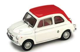 Vitesse SunStar - Fiat  - vss24506 : 1964 Fiat Abarth 595SS, white/red