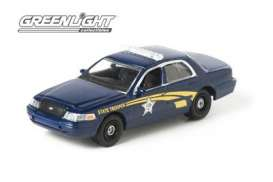GreenLight - Ford  - gl42660B : Hot Pursuit Series 9; 2008 Ford Crown Victoria Oregon Highway Patrol