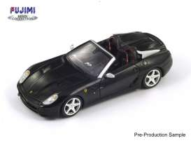 Fujimi Resin Collection - Ferrari  - FRC005 : 2011 Ferrari SA Aperta 599 Roadster *Resin Series*, black