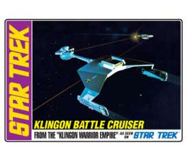 AMT - Star Trek  - amts720 : Star Trek Klingon Battlecruiser, plastic modelkit