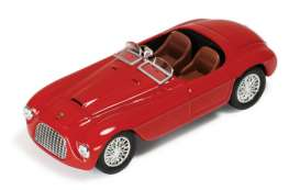Magazine Models - Ferrari  - MagFer166 : 1949 Ferrari 166 MM, red