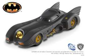 Hotwheels Elite - Batman  - hwmvx5494 : 1989 Batmobile from the movie Batman Returns with M.Keaton as Batman.