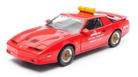 GreenLight - Pontiac  - gl12858 : 1987 Daytona 500 Pace Car *NASCAR* Pontiac Trans Am GTA, red