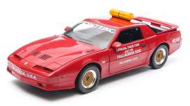 GreenLight - Pontiac  - gl12859 : 1987 Pontiac Trans Am GTA Talladega 500 Pace Car *NASCAR*, flame red