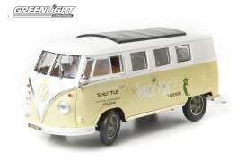 GreenLight - Volkswagen  - gl12851 : 1962 Volkswagen Microbus *Space Age* AAA Approved, white/ primer green