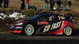IXO Models - Ford  - ixram492 : FORD FIESTA RS WRC #9 M.WILSON-S.MARTIN Rally Monte Carlo 2012