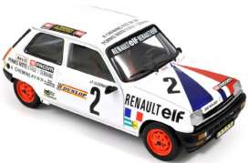 Norev - Renault  - nor510520 : 1978 Renault R5 Alpine Coupe, white