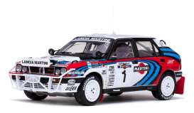 SunStar - Lancia  - sun3126 : 1991 Lancia Delta HF Integrale 16V #1 J.Recalde/M.Christie Safari Rally Kenia, white/red/blue