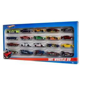 Hotwheels - Assortment/ Mix  - hwmvH7045 : Hotwheels 20 car pack