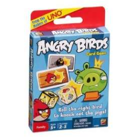 Mattel Games - Games  - MatW3969 : Angry birds card game
