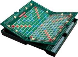 Mattel Games - Games Kids - Mat52351 : Scrabble Travel. This compact scrabble game is designed for fun on the go.