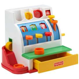 Mattel Fisher Price - Baby Articles   - Mat72044 : Fisher Price Cash Register.