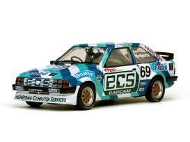 SunStar - Ford  - sun4963 : 1985 Ford Escort 1600i #69 *Brooklyn*, blue/white