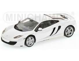 Minichamps - McLaren  - mc530133021 : 2011 McLaren MP4-12C, white