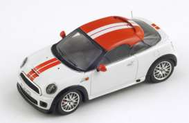 Spark - Mini  - spas2656 : 2012 Mini Coupe, white with red roof