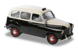 Solido - Renault  - soli118353 : 1953 Renault Colorale Taxi, black/white