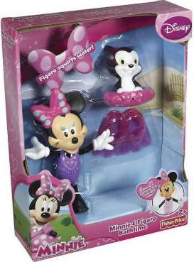 Mattel Disney - Mattel Disney Infants - MatY1889 : Disney Minnie & Figaro *Bath Time* set.