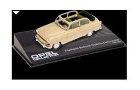 Magazine Models - Opel  - MagOolymCabB : 1954 Opel Olympia Rekord Cabrio Limousine, beige