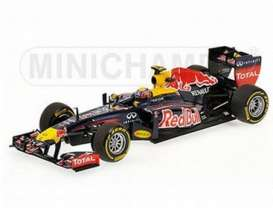 Minichamps - Renault  - mc110120002 : 2012 Red Bull Racing RB8 Mark Webber, blue