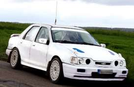 IXO Models - Ford  - ixmdcs010 : 1991 Ford Sierra Cosworth 4x4 rally specs with round front lights, plain white