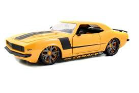 Jada Toys - Chevrolet  - jada96625y : 1968 Chevrolet Camaro Z28, yellow with black