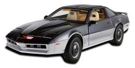Hotwheels Elite - Pontiac  - hwmvBCT87 : 1982 Pontiac Trans Am Knightrider *KARR*. Karr is the black and grey antagonist of K.I.T.T in some of the Knightrider episodes