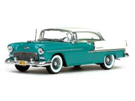 Vitesse SunStar - Chevrolet  - vss36322 : 1955 Chevrolet Bel Air hard top, india ivory/regal turqiouse