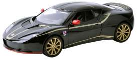 Motor Max - Lotus  - mmax73779bk : 2012 Lotus Evora , special F1 Edition in black with gold.