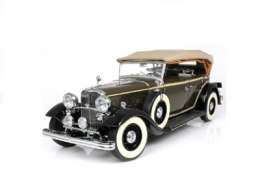 SunStar - Ford Lincoln - sun6160 : 1933 Ford Lincoln KB Soft Top up, chicle drab