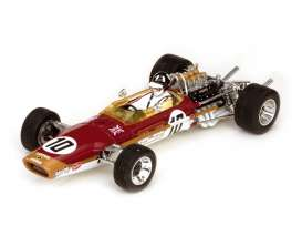 Quartzo - Lotus  - sun18214 : 1968 Lotus 49 #10 Graham Hill *Spanish Grandprix Winner*, red/gold