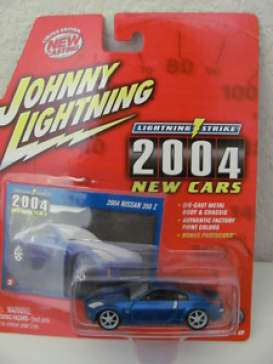 Johnny Lightning - Nissan  - jl39001-4 : 2004 Nissan 350 Z, blue