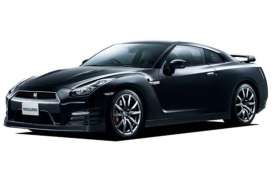 Aoshima - Nissan  - abk108065 : 2012 Nissan GT-R (R35) Pure Edition Pre-Painted, plastic modelkit