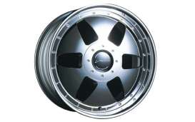 Aoshima - Rims & tires Wheels & tires - abk130479 : 1/24 Vienna Kreis & 19 inch Streched Tire (Chrome Plated),