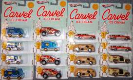 Hotwheels - Assortment/ Mix  - hwmvV2184Carvel : Hotwheels 1/64 Nostalgic Brands *Carvel* assortment.