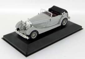 IXO Models - Mercedes  - ixmus044*1 : 1933 Mercedes SS, grey with bordeaux interior