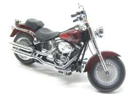 "Highway 61 - Harley Davidson  - hw81137*1 : 2010 Harley Davidson FLSTF Fat Boy, candy root beer base ""Raze"" color shop"