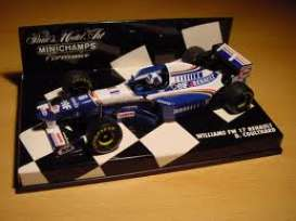 Minichamps - Williams  - mc430950006*1 : Williams FW 17 Renault, D. Coulthard