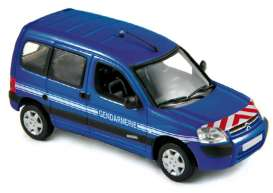 Norev - Citroen  - nor155711 : 2004 Citroen Berlingo Phase 2 *Gendarmerie*, blue