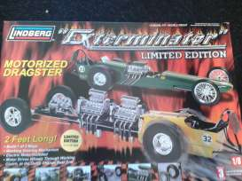 Lindberg - Ford  - lnds73045a^1 : Exterminator motorized dragster(plastic modelkit)