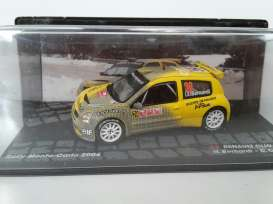 Magazine Models - Renault  - MagRAclio39 : 2004 Renault Clio S1600 #39 Rally Monte Carlo